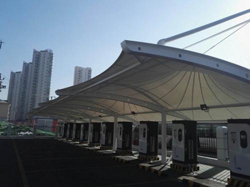 膜结构车篷