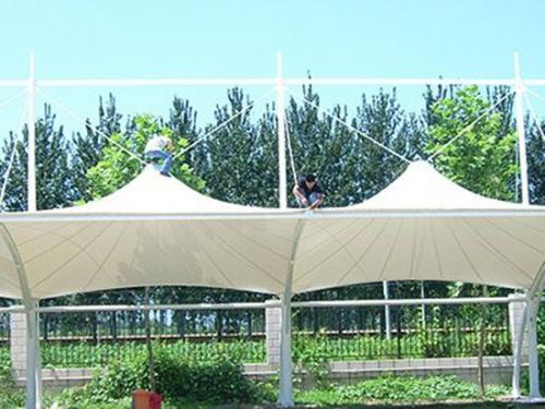 武汉膜结构车篷厂家