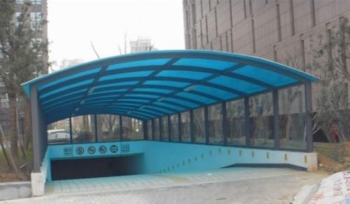 耐力板/阳光板/彩钢板车棚